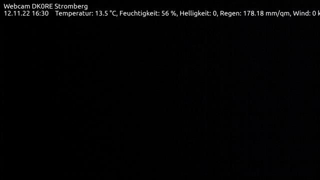 Bild der Web-Cam auf der Hühnenburg